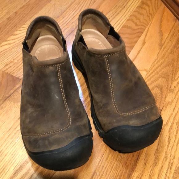 Keen Shoes   Keen Mens 1 Brown Slip Ons